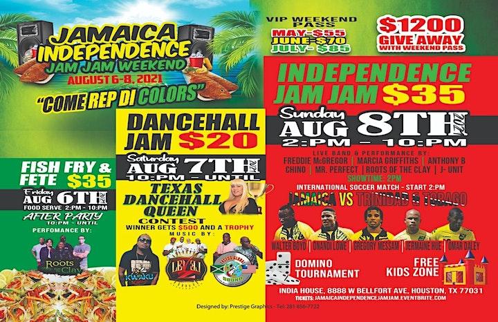 Jamaica Independence Jam Jam image