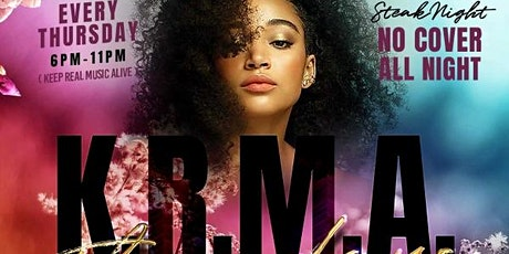 KRMA THURSDAYS - STEAK NIGHT w/DJ FLIP & MAURICE CURTIS - LIVE ON SAX tickets