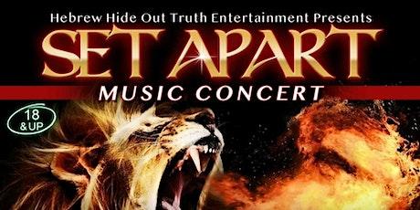 SET APART  MUSIC CONCERT tickets