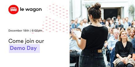 Le Wagon Demo Day - Batch #592 tickets