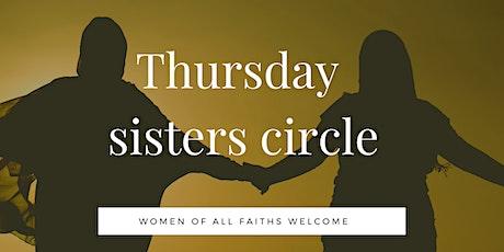 Thursday sisters circle at MWHS tickets