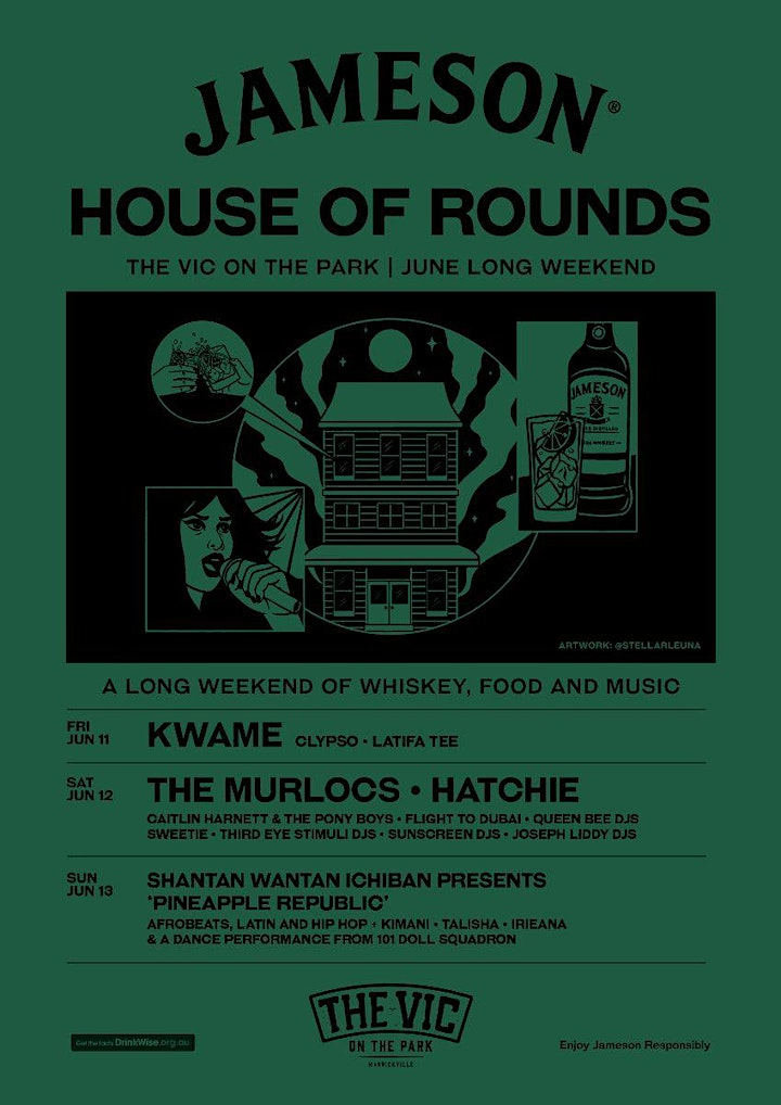 JAMESON HOUSE OF ROUNDS image