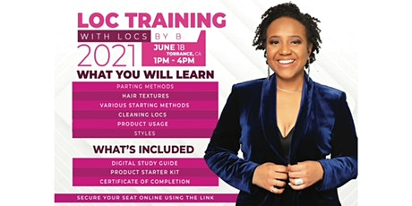 Learn Starter Locs, Loc Maintenance, & Loc Design tickets