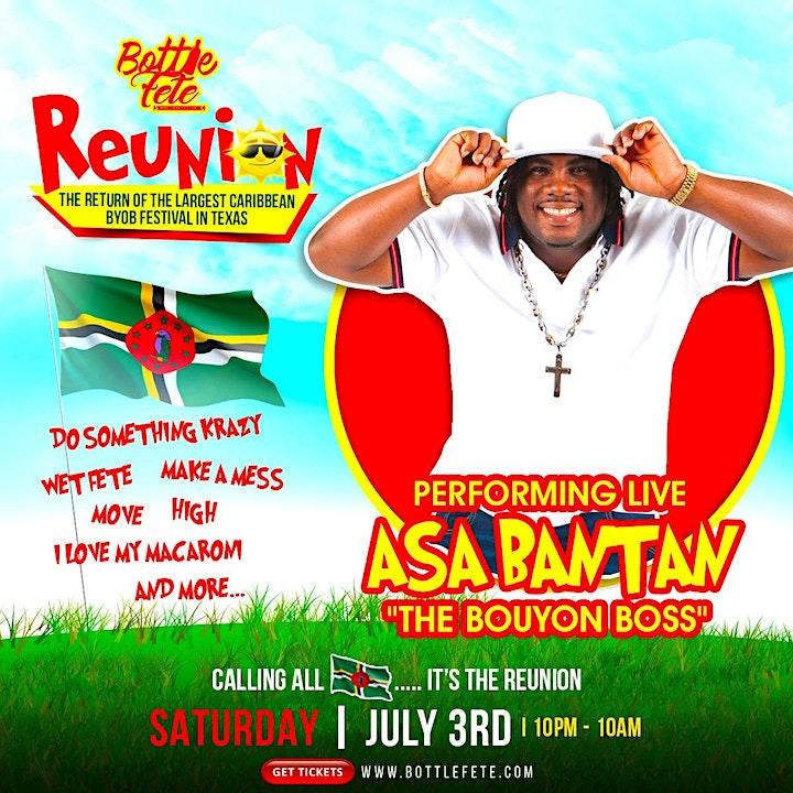 BOTTLE FETE #REUNION - Caribbean BYOB Festival image