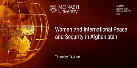 Women and International Peace and Security in Afghanistan tickets