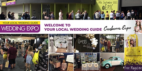 Your Local Wedding Guide Canberra Expo - 19th September 2021 tickets