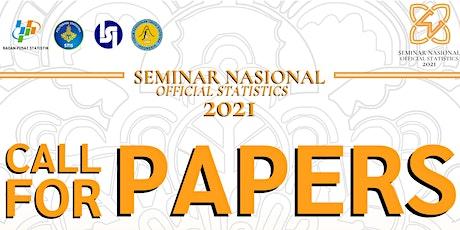 Seminar Nasional Official Statistics 2021 tickets