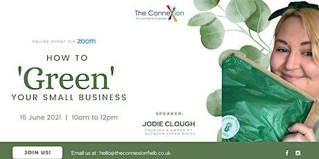 How to 'Green' Your Small Business tickets