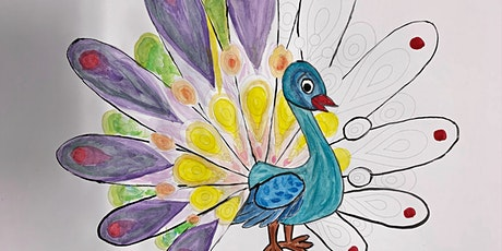 Craftastic Kids: Peacock Craft (6 to 10 years) at Parramatta Library tickets