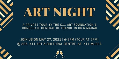 Art Night Tour + Happy Hour tickets