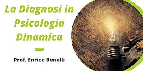 La diagnosi in Psicologia Dinamica biglietti