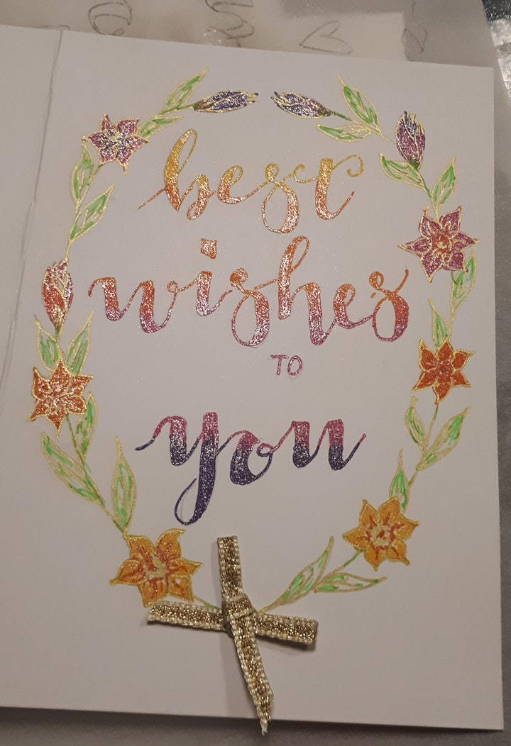 Modern Calligraphy Workshop with Jane Lappage via Zoom image