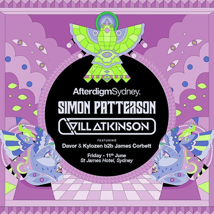 Afterdigm Sydney: Simon Patterson & Will Atkinson image