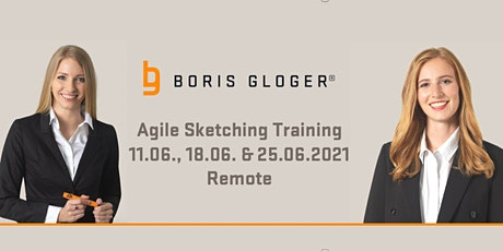 Remote Agile Sketching 11.06., 18.06. + 25.06.2021 Tickets