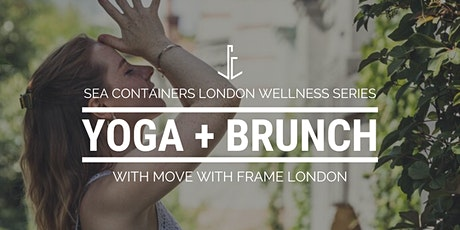 Yoga + Brunch with Move Your Frame tickets