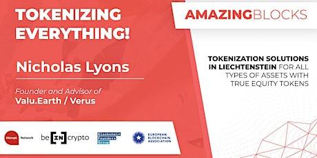 Tokenizing Everything!  Episode #27 (Podcast) tickets