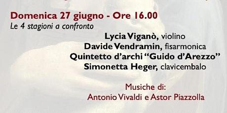 """Melzomusica 2021 - Concerto - """"Di qua e di là dell'Atlantico"""" biglietti"""