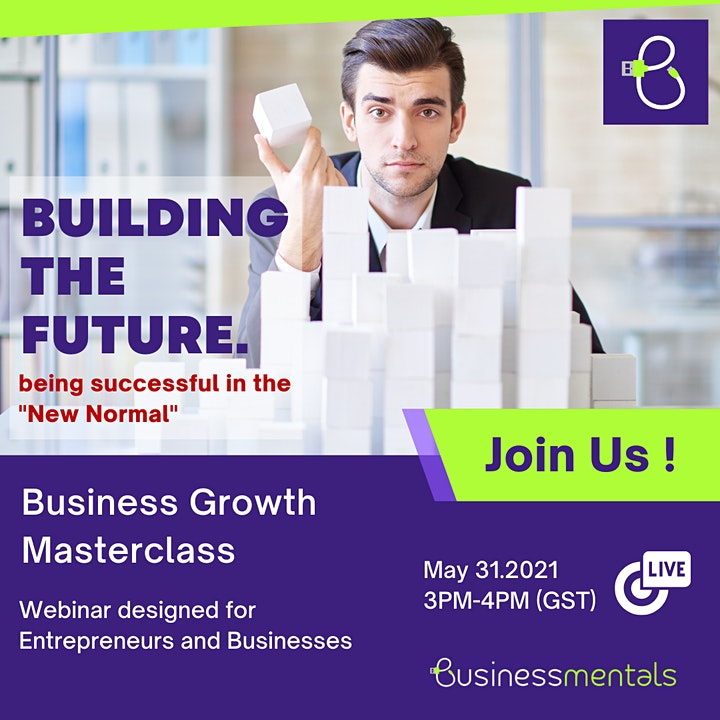 Business Growth Masterclass : Being Successful in The New Normal image