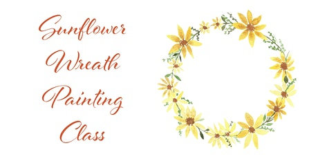 Floral Wreath Watercolor Painting Class tickets