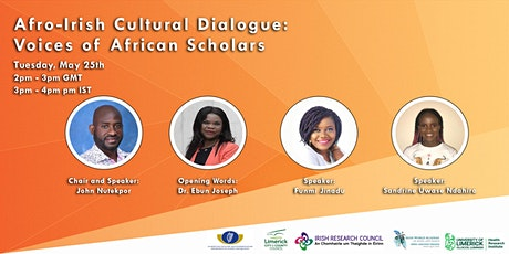 Afro-Irish Cultural Dialogue:Voices of African Scholars tickets