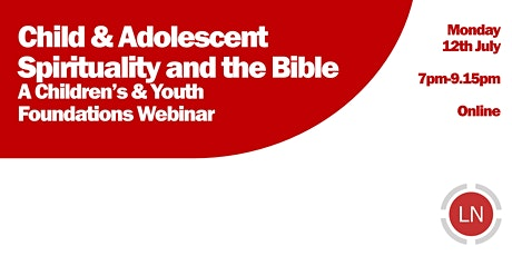 Spirituality & The Bible with Children and Young People tickets