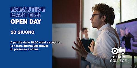 Open Day Online - Master Executive | H-FARM College biglietti
