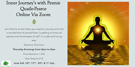 Inner Journeys with Pennie Quaile-Pearce - Via Zoom tickets