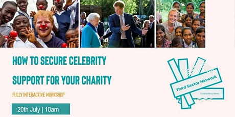 How to Secure Celebrity Support for Your Charity tickets