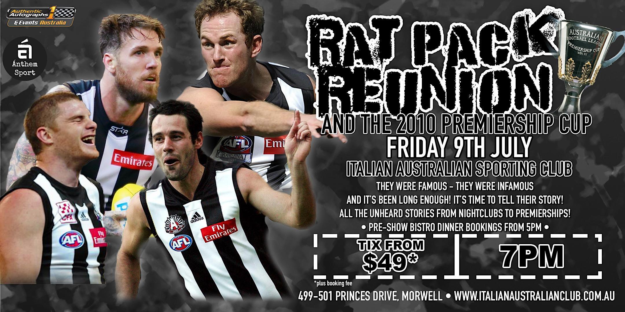 Rat Pack Reunion at Italian Australian Sporting Club!