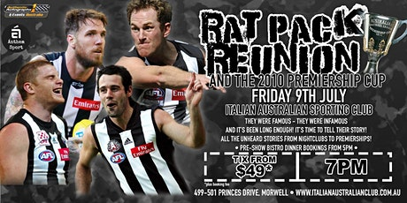 Rat Pack Reunion at Italian Australian Sporting Club! tickets