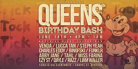 The Annual Queens Birthday Bash @ KT tickets