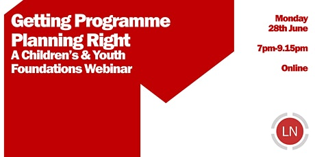 Getting Programme Planning Right tickets