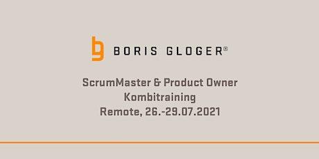 Remote ScrumMaster und Product Owner Kombitraining Tickets