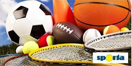 Sportweek i.s.m. Sporta: maandag 16/08 - 6-12jaar tickets
