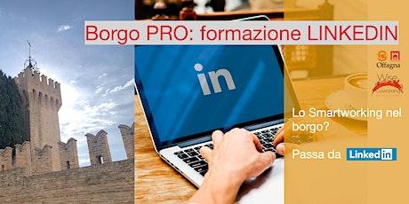 Il Borgo professionale: usare Linkedin e fare personal branding biglietti