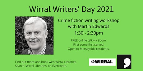 Writers' Day: Crime Fiction Writing Workshop with Martin Edwards tickets