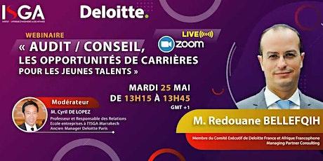 Audit / Conseil, les opportunités de carrières pour les jeunes talents tickets