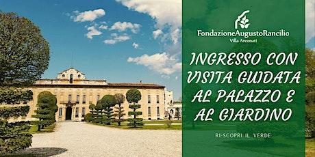 Ingresso con Visita Guidata al Palazzo e Giardino biglietti