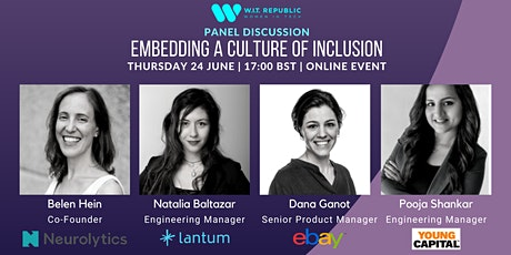 W.I.T. Republic Panel: Embedding a Culture of Inclusion tickets