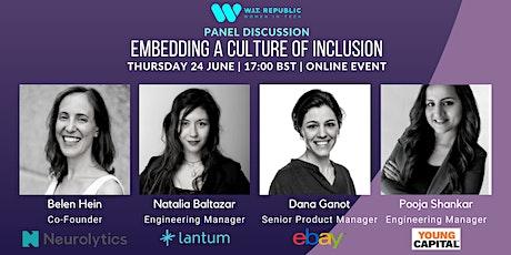 W.I.T. Republic & Allies: Embedding a Culture of Inclusion biglietti