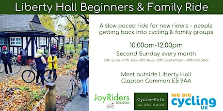 Liberty Hall | Newcomers & Family Bike Ride tickets