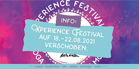 Save the date: Xperience Festival vom 18. bis 22. August 2021 Tickets