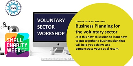 Lincolnshire CVS  Workshop- Voluntary Sector Business Planning tickets