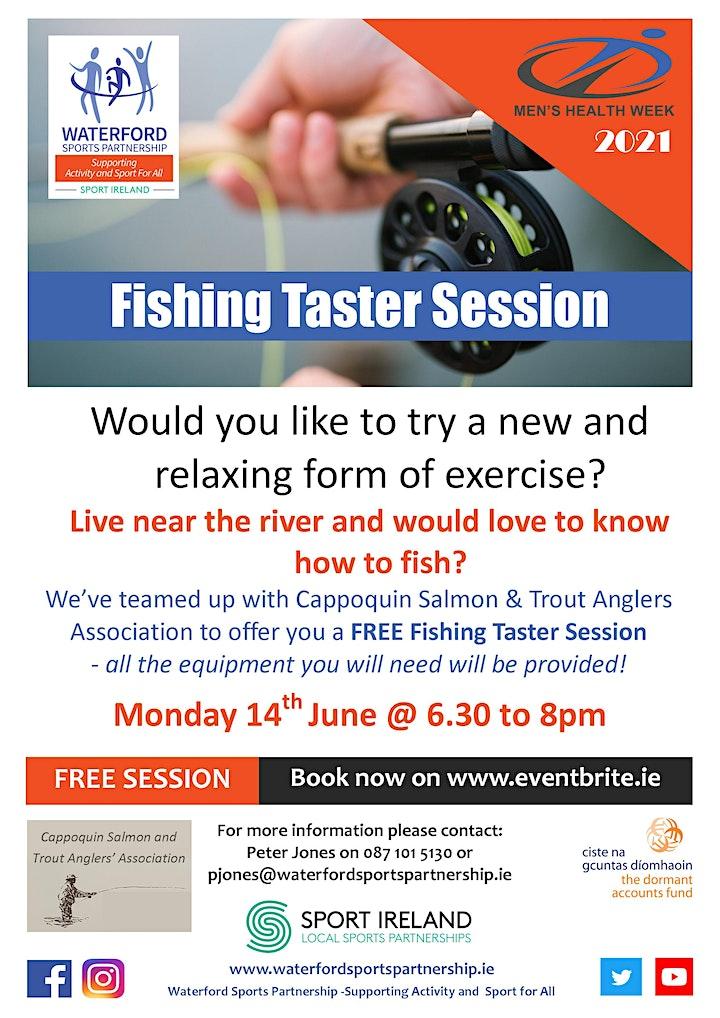 Men's Health Week - Fishing Taster Session 140621 image