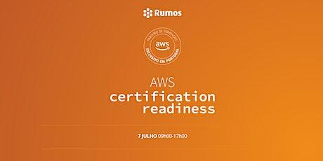 AWS Certification Readiness ingressos