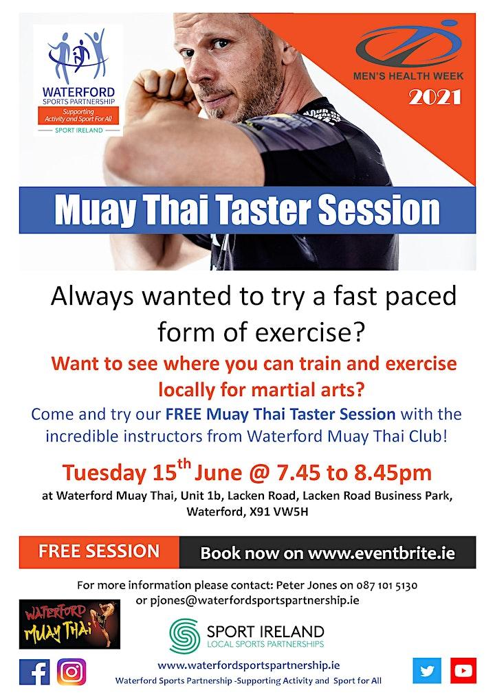 Men's Health Week - Muay Thai Taster Session 150621 image