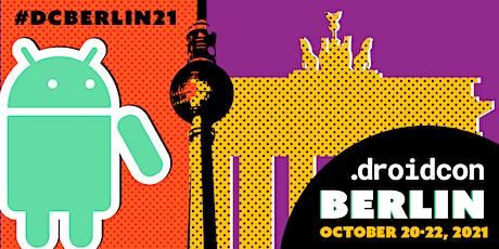 droidcon Berlin 2021 Tickets