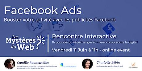Facebook Ads : Booster votre activité avec les publicités Facebook | LMDW billets