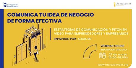 EMPRENDIMIENTO: Estrategias de comunicación y pitch en vídeo entradas