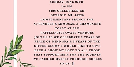 Peace of Mind Spa Client Brunch tickets